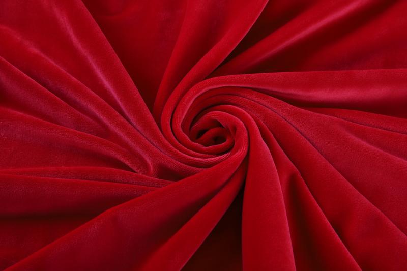 单面超柔-鲜红