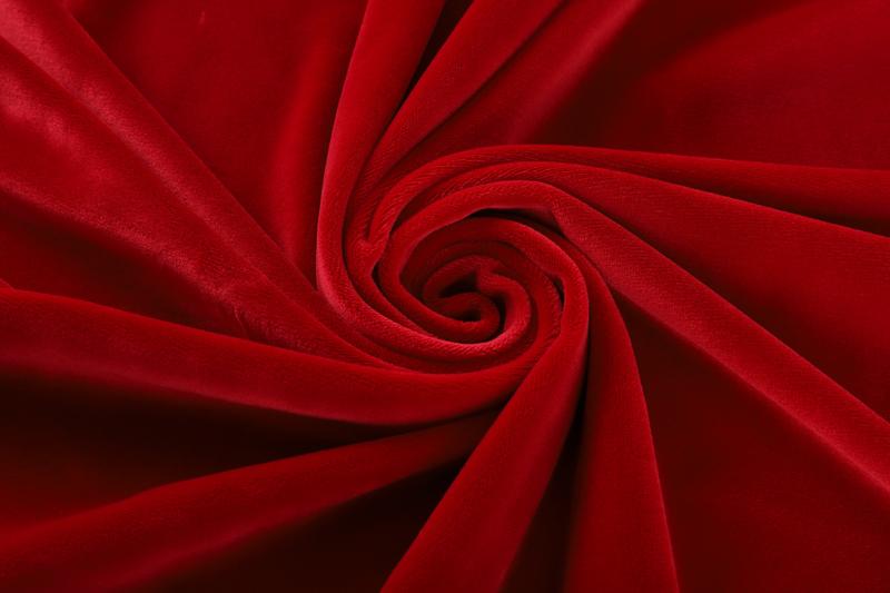 单面超柔-大红