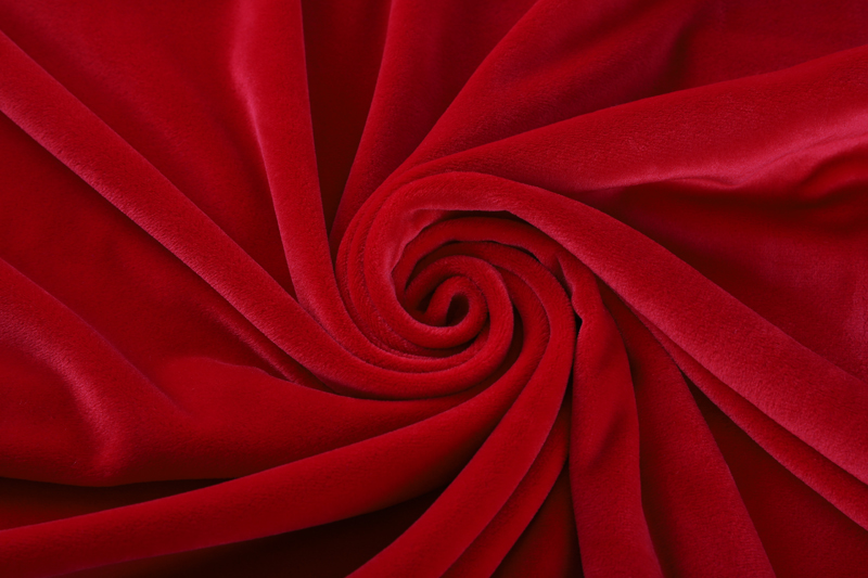 双面超柔-鲜红