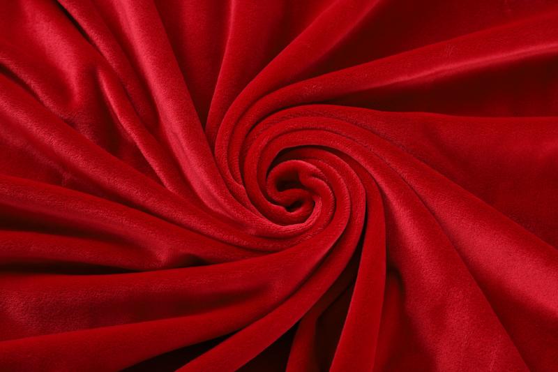 双面超柔-大红